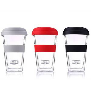 Wholesale insulated coffee mugs: Double Glass Manufacturer