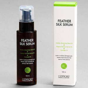 Wholesale silk: Ceracos Feather Silk Serum- Avocado Oil& Argan Oil, Abyssinia Oil
