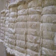 Sell  Natural raw sisal fiber/UG sisal fibre /bleaching sisal fiber for Gypsum