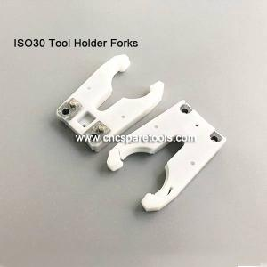 Wholesale forks: ISO30 Tool Holder Forks  ATC Tool Grippers Plastic Tool Clips for CNC Router