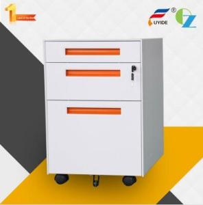Wholesale cabinet with code lock: Direct Factory Anti-tilt Design Office Storage Cabinets / Mobile Pedestal with Casters