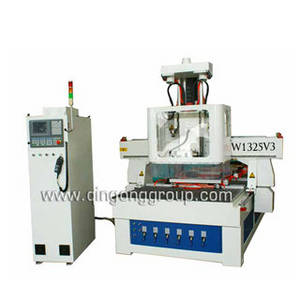 Wholesale v3 board: Simple Auto Tool Changer CNC Router with Rotating Spindle W1325V3