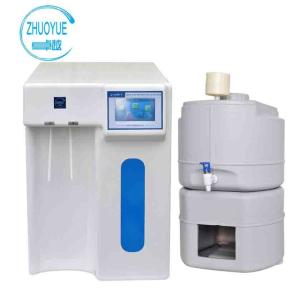 Wholesale uv 254nm lamp: Color Touch Screen Plastic Lab Water Purification System