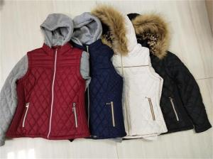 Wholesale padded jacket: Winter Detachable Hooded Padding Jacket