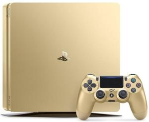 Wholesale limited: BRAND NEW (SEALED in Box) PS 4 Slim Limited Edition 1TB Gold Console