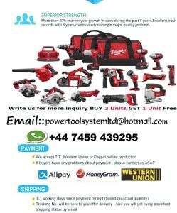 Wholesale cordless combo kit: Standard Kit MilWauKees 2695-15 M18 2896-26 M18 FUEL 18V Cordless Lithium-Ion Combo Tools
