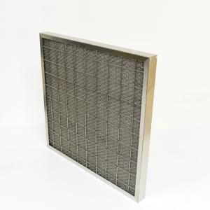 Wholesale oil filter: Factory Direct Selling Wire Net Washable Air Filter for Heavy Oil Smoking Coarse Filter