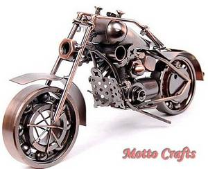 Wholesale craft gift: Metal Motorbike Model/Home Gifts/Iron Crafts