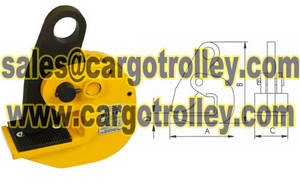 Wholesale lifting clamp: Horizontal Lifting Plate Clamps Price List with Details
