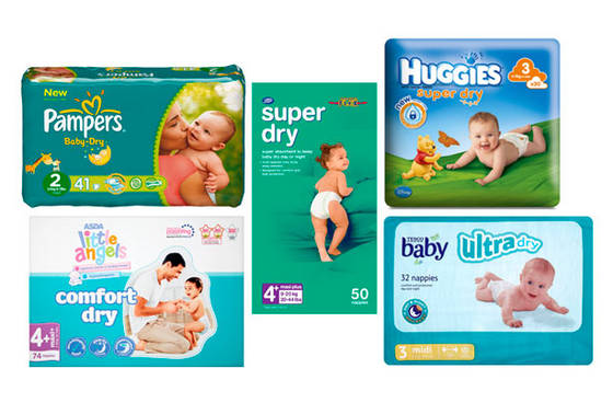 Sell  baby diaper magic tape and Good comfortable pampering baby diapers, baby n