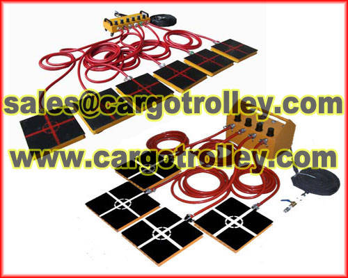 Metal Processing Machinery: Sell Air caster rigging systems advantages