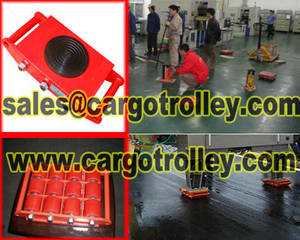 Wholesale warehouse trolley: Cargo Trolley Applied On Warehouse and Storage