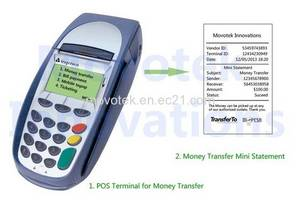 Wholesale mobile: Movotek Mobile Money Transfer POS Terminal Receipt