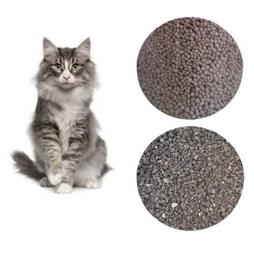 Sell Bentonite cat litter 5L, 10L. size 1-3.5mm, 1-2mm, 1-4mm...