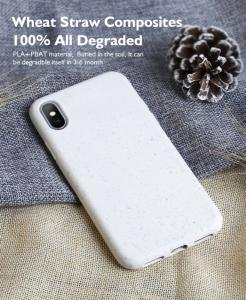 Wholesale phone case: Eco Friendly Phone Case with Straw Material