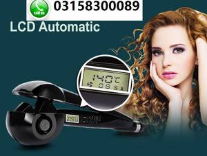 Wholesale Hair Straightener: Hair Curler Automatic Bouncy Healthy Looking Curls-Call for:03158300089
