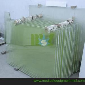 Wholesale radiation protection: X Ray Lead Glass|x-ray Protective Lead Anti-radiation Glass with Size Customized-MSLLG01