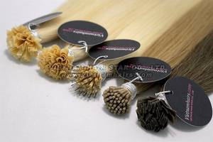 Wholesale f nails: Pre-bonded Keratin Hair Extensions (Stick/I-tip, Nail/U-tip, V-tip, Flat/F-tip) Hair Extensions