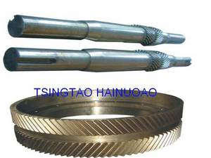 Wholesale gear shaft: EMSCO  GARDNER DENVER  Mud Pump Pinion Shaft and Gear