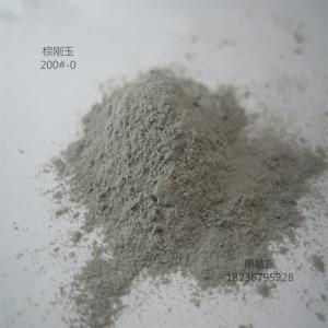 Wholesale fused alumina: Hot Sales of High-grade Abrasive for Refractory Brown Fused Alumina 200#-0