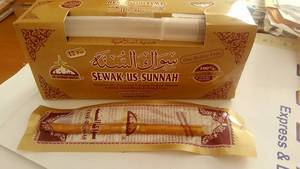 Wholesale organic chocolate: Best Quality Miswak /Sewak Us Sunnah with 1 Free Holder/Cover