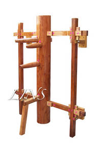 LINS Wall Removable,Height Adjustable Muk Yan Chong,Wooden Dummy
