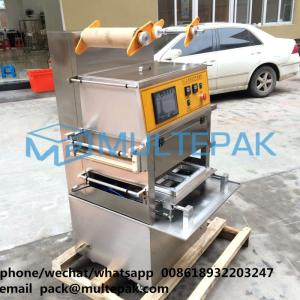 Wholesale vacuum sealing machine: Multepak Vacuum Food Tray Sealing Machine with Nitrogen Filling