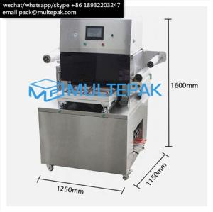 Wholesale packaging machine: Multepak Semi-Auto Vacuum Skin Packaging Machine for Seafood Fish Meat