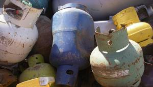 Wholesale Gas Cylinders: Scrap Cooking Gas Cylinders