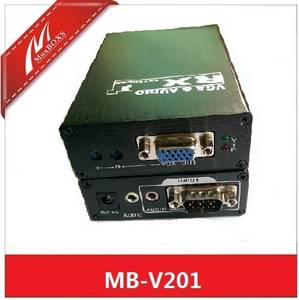 Wholesale CCTV Accessories: 1-CH VGA&Audio Extender Up To 656ft with Local Output
