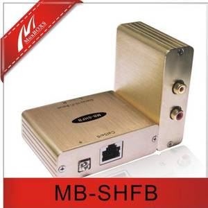 Wholesale CCTV Accessories: Stereo Hi-Fi Audio Isolator Extender Over Cat5