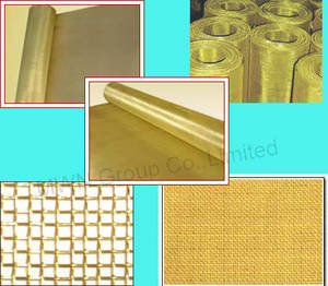 Wholesale glass weaving: Brass,Copper Wire Mesh
