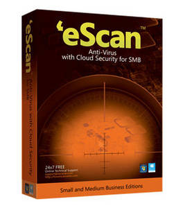 Wholesale Software: Escan Anti Virus with Cloud Security for SMBs