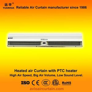 Wholesale bd remote control: Heated Air Curtain (Air Door) FM-1.25-09BD