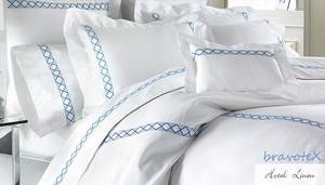 Wholesale bedding: Luxury 100% Cotton/PolyCotton Yarn Dyed Bed Linen/Sets