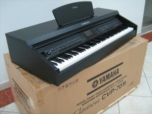 Wholesale one touch select: Cvp 701b Clavinova CVP701 B Digital Keyboard Workstation Videoshow