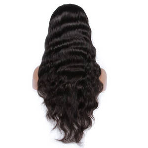 Wholesale Hair Accessories: New Arrival 100% Human Hair Wavy Full Lace Wig,Cheap Brazilian Hair Wigs for Black Women