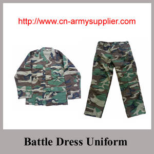 Wholesale military camouflage overall uniform: Desert Khaki Navy Blue Army Green Digital Camouflage Ripstop Military Battle Dress Uniform