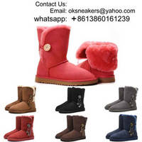 Wholesale UGG Boots 2018 UGG Snow Boots Girl Women UGG Winter Boots Warm Shoes Free Shipping