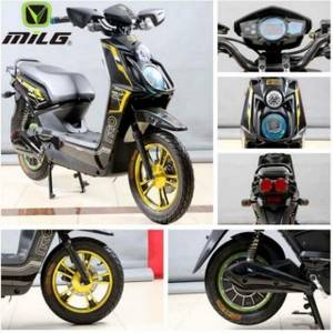 Wholesale motocycles battery: Electric Motocycle 60V 20AH 800w Approved Electric Scooter Adult Motorcycle