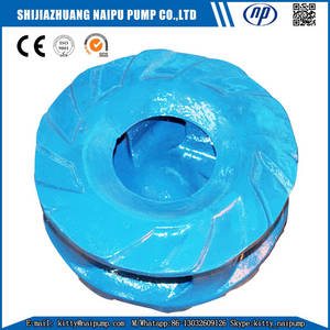 Wholesale fgd pump: 8/6 E-AH Slurry Pump High Chrome A05 Impeller F6147