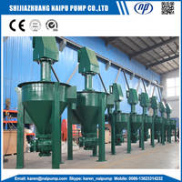 Mineral processing froth pumps handle frothy slurries