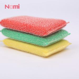 Wholesale scrubber packing: Nami Brand Kitchen Scrubber Cellulose Sponge Cloth Roll Scouring Pad