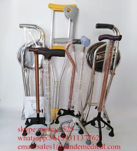 Wholesale walking stick: Aluminum Alloy Height Adjusted Walking Cane Walking Stick for the Old
