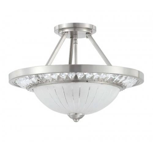 Sell crystal light semi-flushmount ceiling lamp pendant lamp lighting fixtures