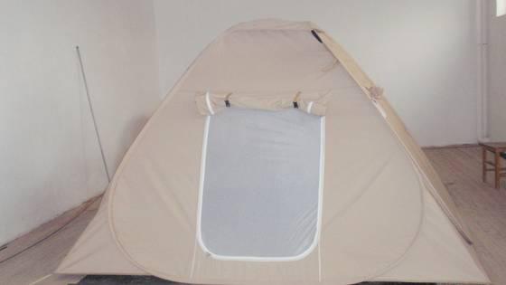 Sell canvas instant pop up family tent