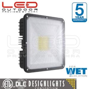 Wholesale pc canopy: Aluminum IP65 40W-75W LED Indoor Canopy/Ceiling Light