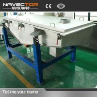 Navector High Capacity Linear Vibrating Screen for Various Ingredients