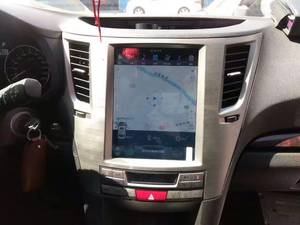 Wholesale car dvd player: Tesla Style Car DVD Player for Subaru Outback