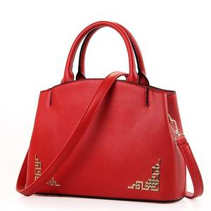 Wholesale hand bag: Lady Handbag Ladies Fashion Style Hand Bags Ladies PU Real Leather Material